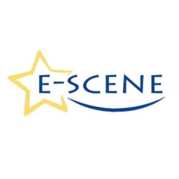 E scene logo image e scene logo