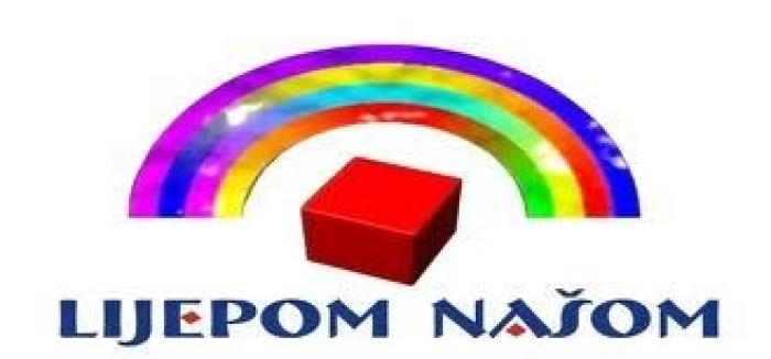 lijepom našom logo