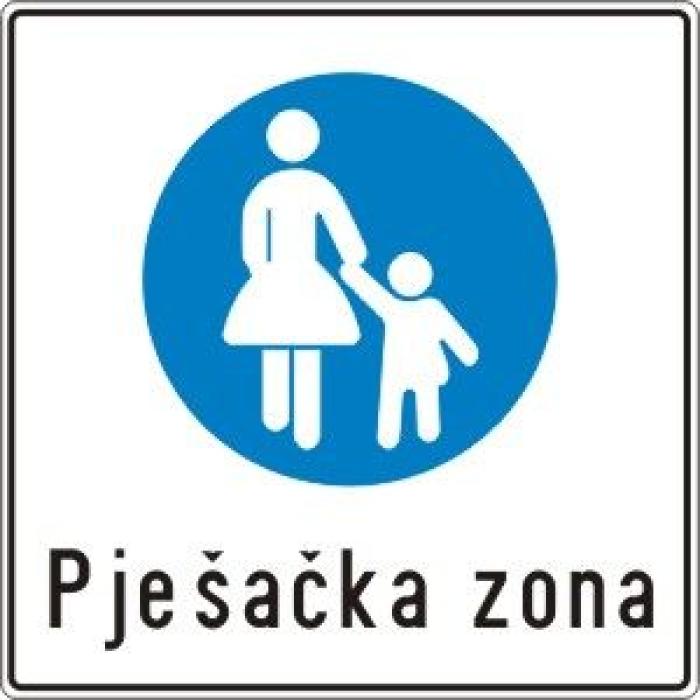 pješačka zona