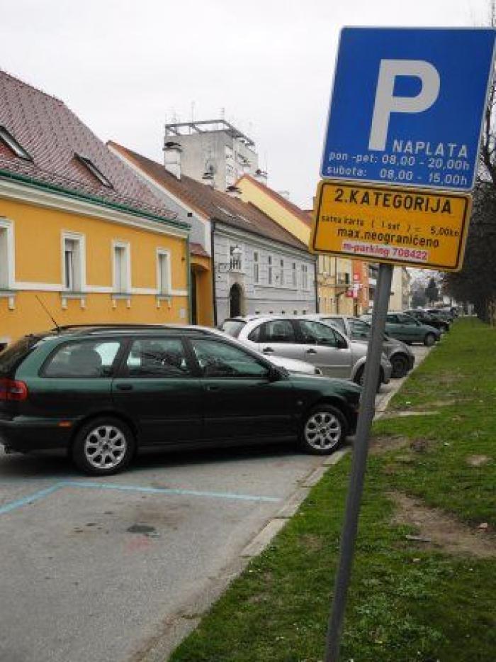 parkiranje web