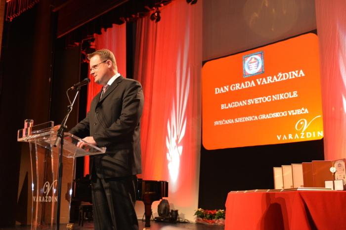 gradonačelnik grada Varaždina Goran Habuš