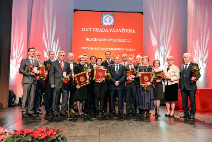 nagrađeni za Dan Grada Varaždina