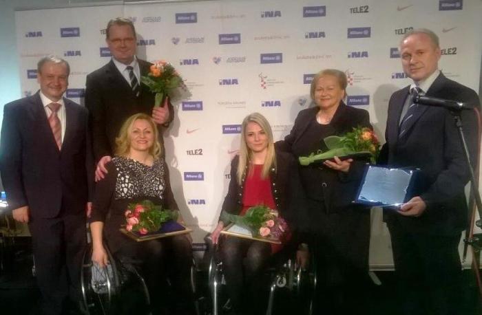gradonačelnik Goran Habuš s dobitnicima paraolompijskih priznanja