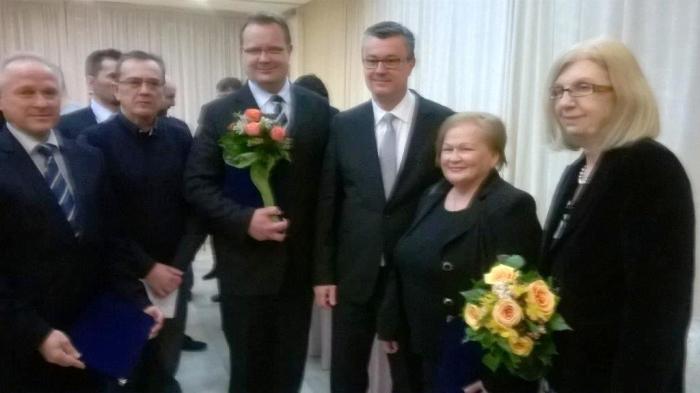 gradonačelnik Goran Habuš s premijerom Oreškovićem