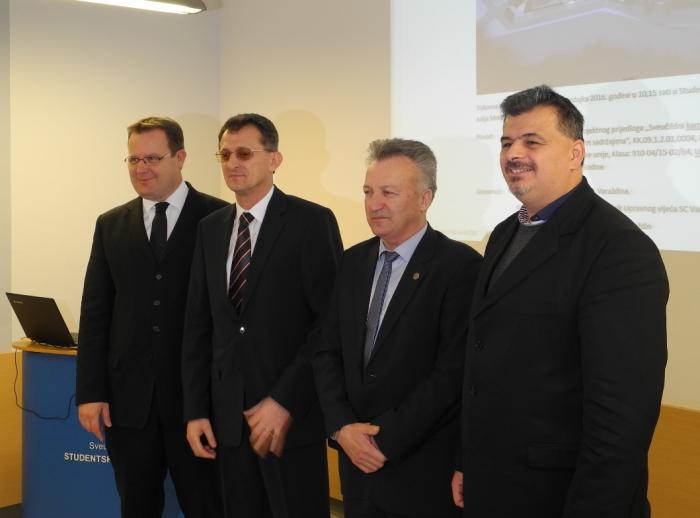 predstavljanje projekta Sveučilišnog kampusa Varaždin