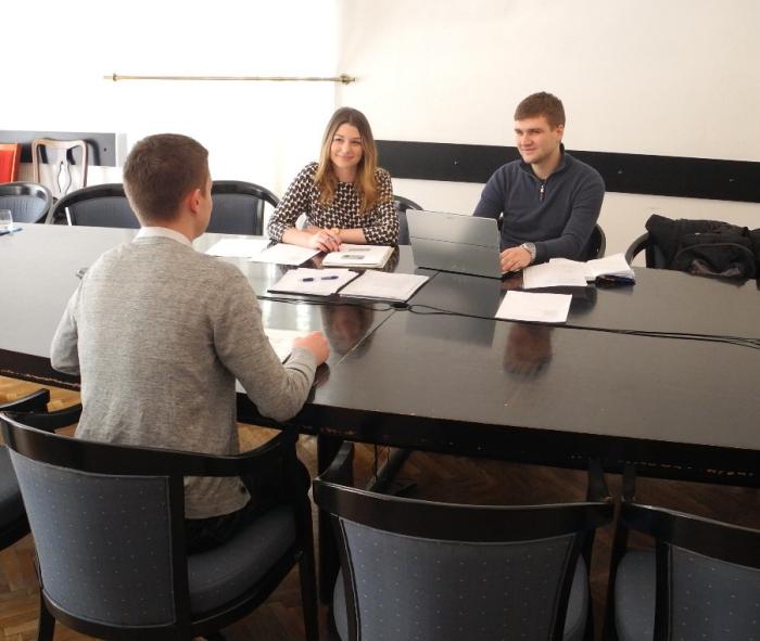 Studenti Pravnog fakulteta u Zagrebu
