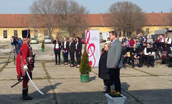 Gradonačelnik Goran Habuš na otvorenju husarske jahaone