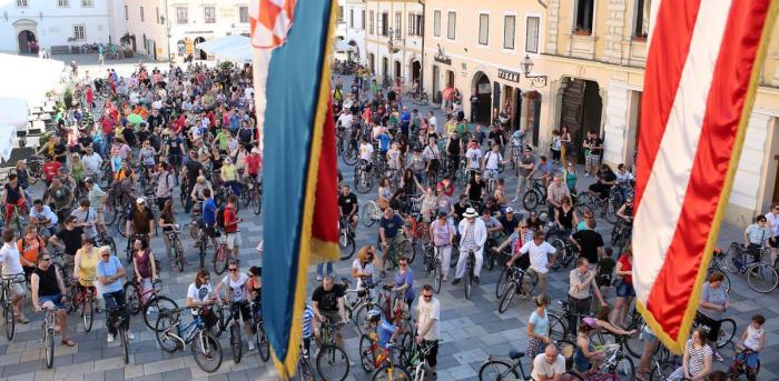 1. biciklijada Varaždinskih biciklista