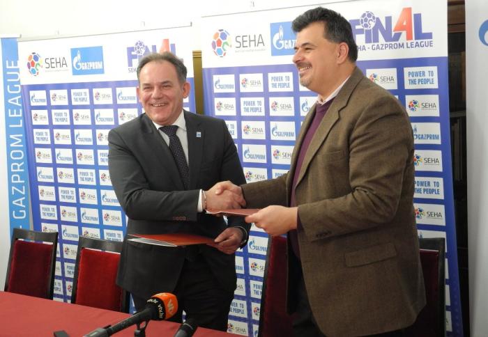 potpisivanje ugovora o suradnji Grada Varaždina i SEHA lige