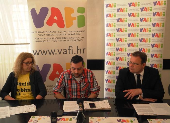 najava Internacionalnog festivala animiranog filma djece i mladih Varaždin