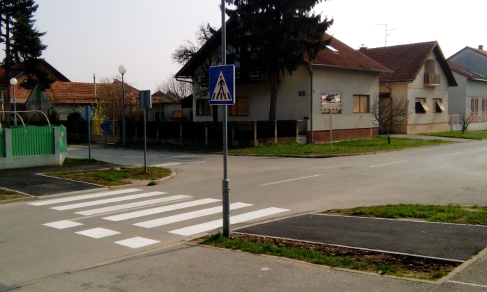 Pješački prijelaz raskrižje Župančićeva i Bartola Kašića