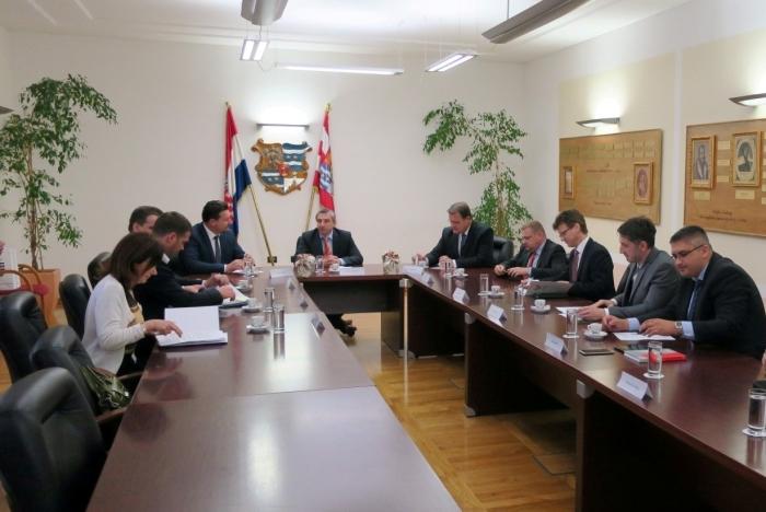 Posjet ministra Lovre Kuščevića