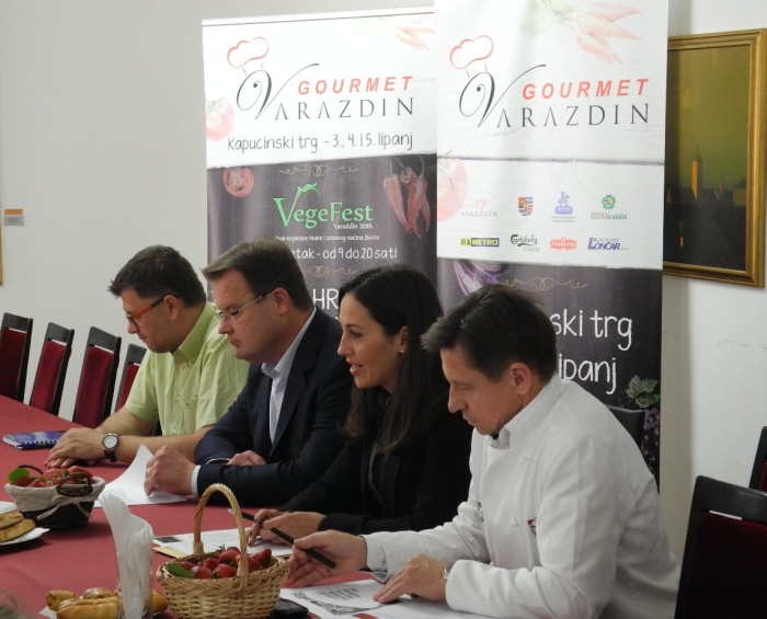 najava Gourmet Varaždin 2016.