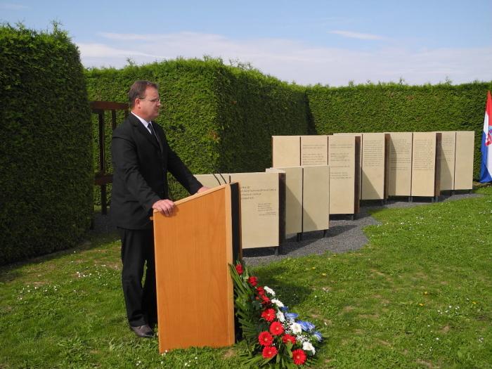 otkrivanje spomen obilježja poginulim braniteljima Varaždinske županije