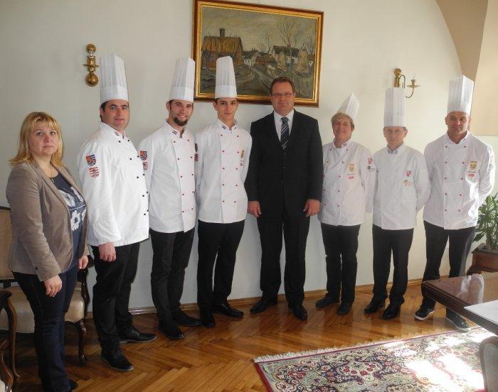 prijem Kulinarskog tima Varaždinske županije