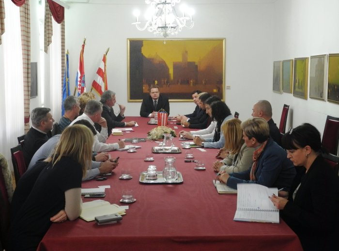 predstavnici EBRD-a kod gradonačelnika